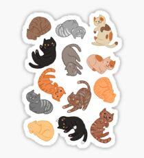 Chats et Chats et Chats Sticker