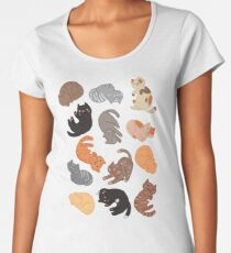 Cats and Cats and Cats Women's Premium T-Shirt