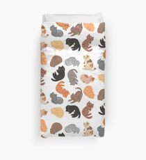 Cats and Cats and Cats Duvet Cover