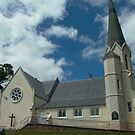 Parish Church of St Mark, Deloraine, Tasmania by BronReid
