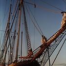 Falie training sailing ship, Port Vincent SA ii by BronReid