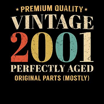 Vintage Since 2001 Limited Edition 18th Birthday Gift by SpecialtyGifts