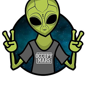 Occupy Mars Shirt, Space Exploration, Occupy Mars T Shirt, Aliens Shirt, Occupy Mars Tees, Planets, Astronaut Shirt, Mars Shirt by Whynot123