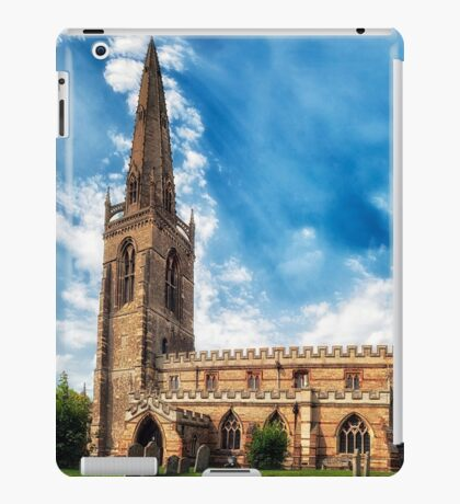 Higham Ferrers St Marys Church iPad Case/Skin