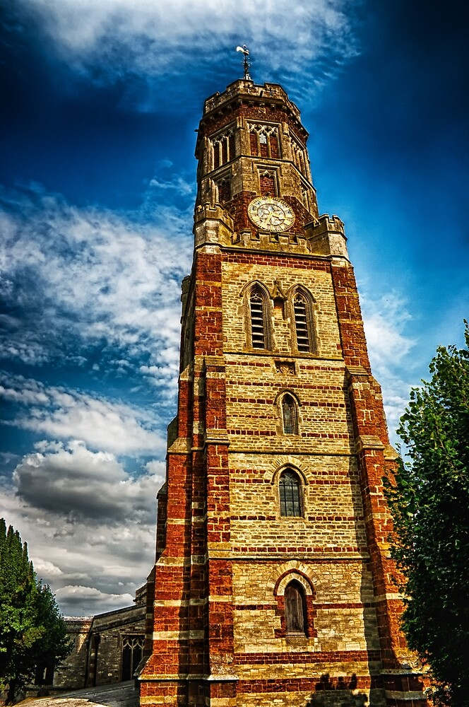 The Lantern Tower at St Peters Church  by Vicki Field