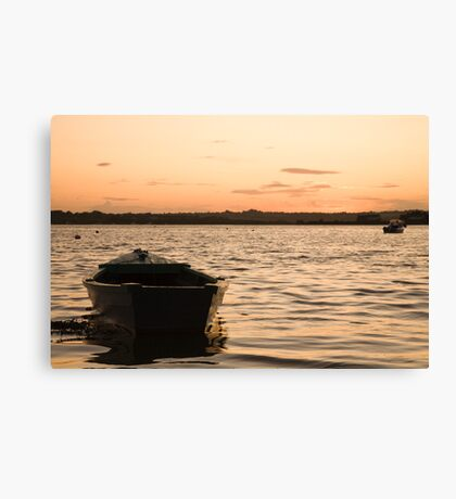 Sunset in Wexford Canvas Print