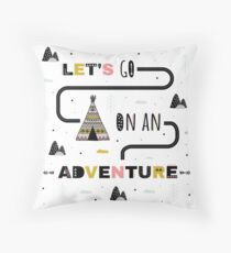 Adventure Floor Pillow