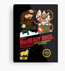 Super MacReady Bros. Metal Print
