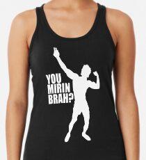3c86db8bd4c960 Zyzz You Mirin Brah White Women s Tank Top
