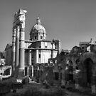 Old City, Rome by Rodney Johnson