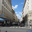 Paris Street by Sherry Freeman