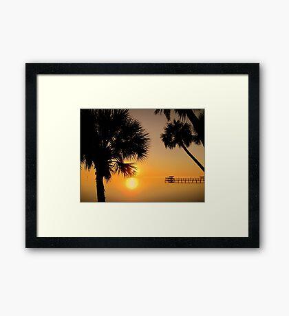 Florida Sunrise Framed Print
