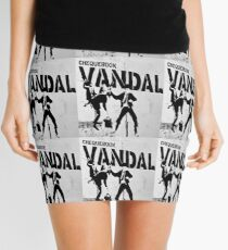 Chequebook Vandal  Mini Skirt