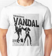 Chequebook Vandal  Unisex T-Shirt