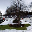 Edradour Distillery by Lynne Morris