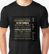 Ho Chi Minh Famous Landmarks T-Shirt