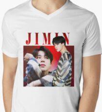 Jimin T-Shirt mit V-Ausschnitt für Männer