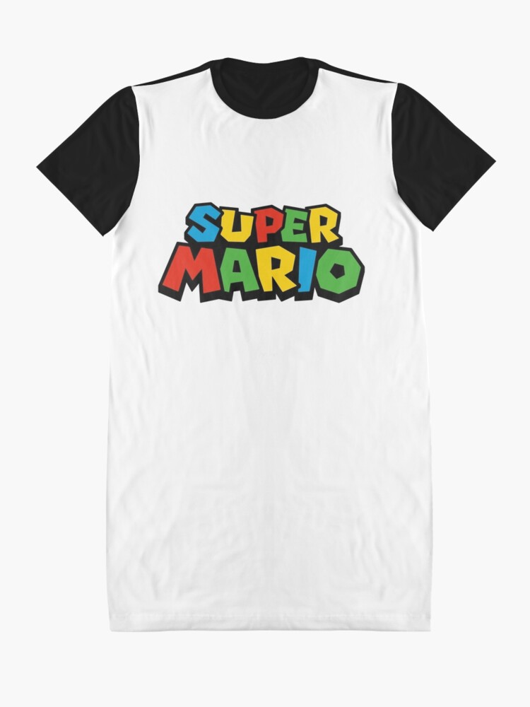 Vista alternativa de Vestido camiseta Super Mario Logo