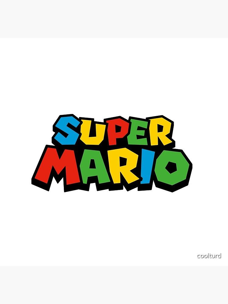 Super Mario Logo de coolturd