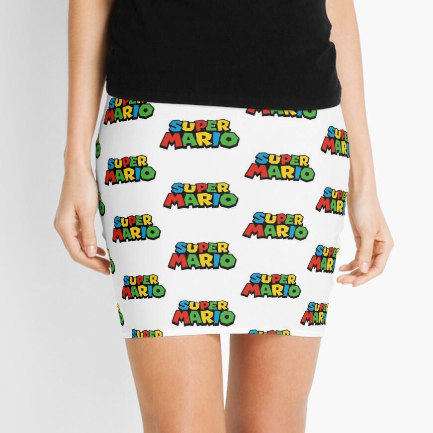 Super Mario Logo Minifalda