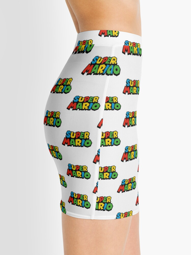 Vista alternativa de Minifalda Super Mario Logo