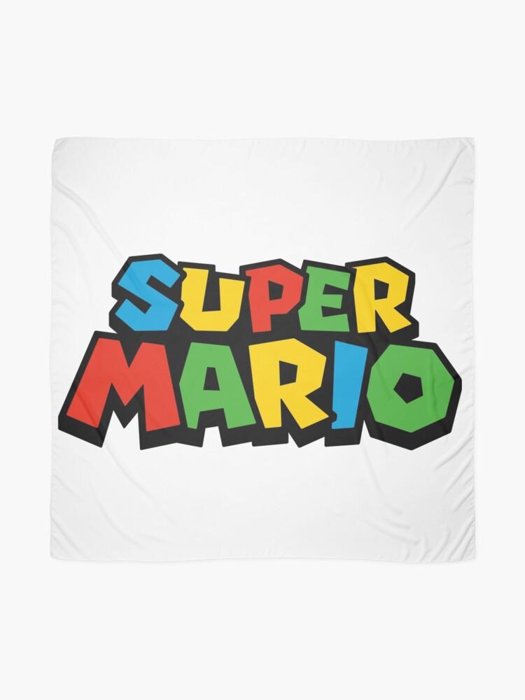 Vista alternativa de Pañuelo Super Mario Logo