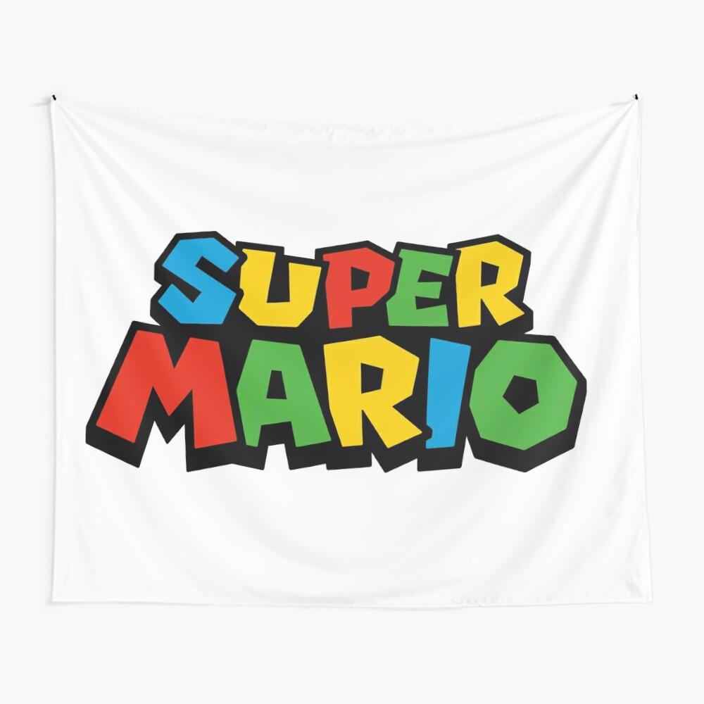 Super Mario Logo Tela decorativa