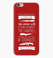 Buffy the Vampire Slayer - Chosen One iPhone Case