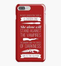 Buffy the Vampire Slayer - Chosen One iPhone 7 Plus Case