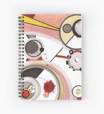 Mechanics of Modernity, Ink drawing Spiral Notebook