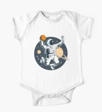asteroidday 7 Short Sleeve Baby One-Piece