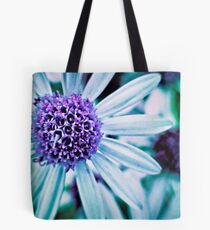 Floral Symphony in Purple Tote Bag