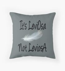 It's LeviOsa, not LeviosA Throw Pillow