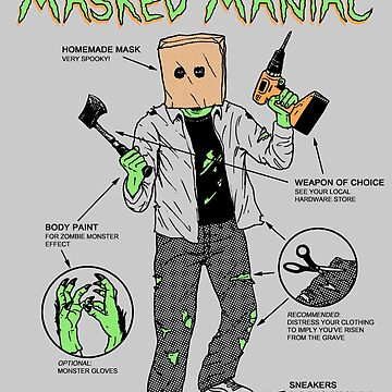 Create-Your-Own Masked Maniac by wytrab8