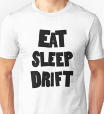 eat sleep drift cloud  T-Shirt