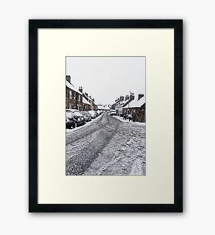 Main Street - Kirknewton Framed Print
