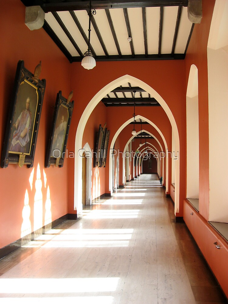 Holy Corridor by Orla Cahill Photography