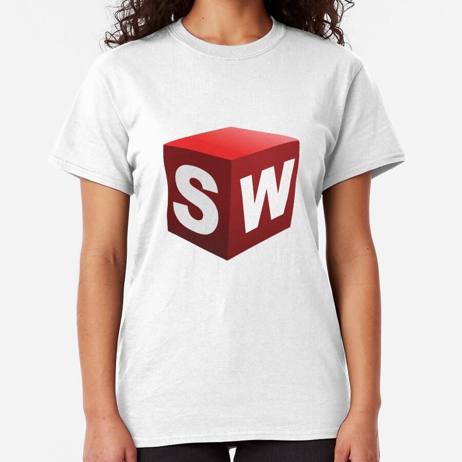 3D Cad/Cam/Cae Solid Works Designer Classic T-Shirt