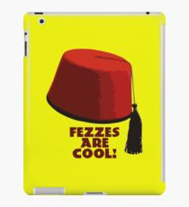 Fezzes are cool! iPad Case/Skin