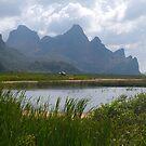Mountainscape, Hua Hin, Thailand by johnrf