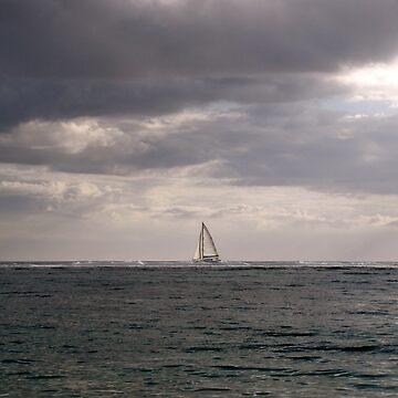 sea (Mauritius) by FedericoFaggion