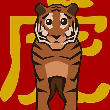 Tiger - Chinese Zodiac by pda1986