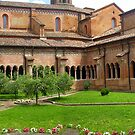 Chiaravalle della Colomba Abbey - the Cloister by sstarlightss