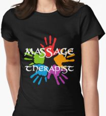 Massage Therapist Women's Fitted T-Shirt