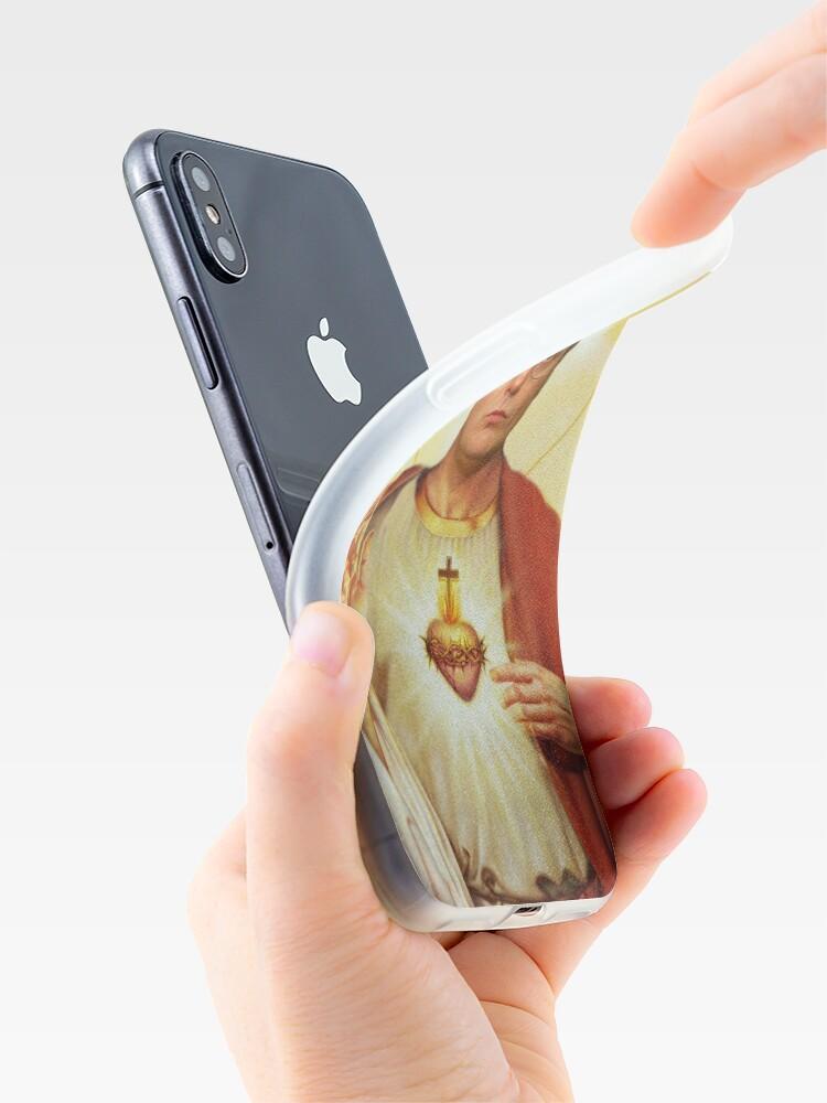 Alternative Ansicht von Heilige Dwight iPhone-Hülle & Cover