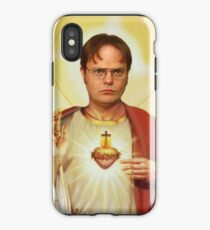 Heilige Dwight iPhone-Hülle & Cover