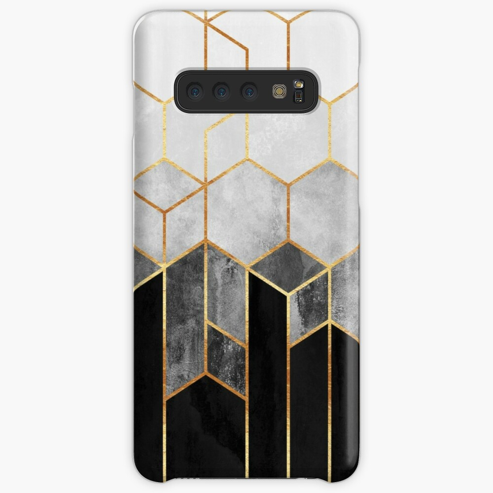 Charcoal Hexagons Case & Skin for Samsung Galaxy