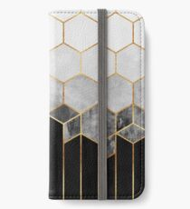 Charcoal Hexagons iPhone Wallet/Case/Skin