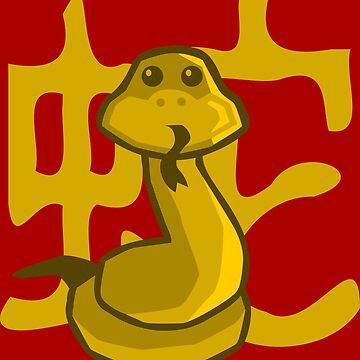 Snake - Chinese Zodiac by pda1986