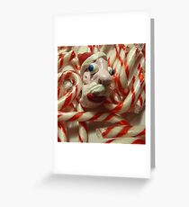 Santa Claus of Fimo Greeting Card